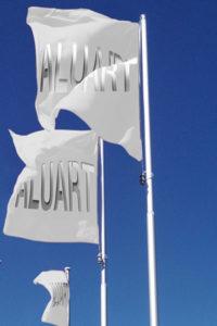 aluart-tuerchen-Deluxe-Fahnenmast-alu